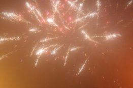 Powitanie Nowego Roku na Rynku w Krajence!